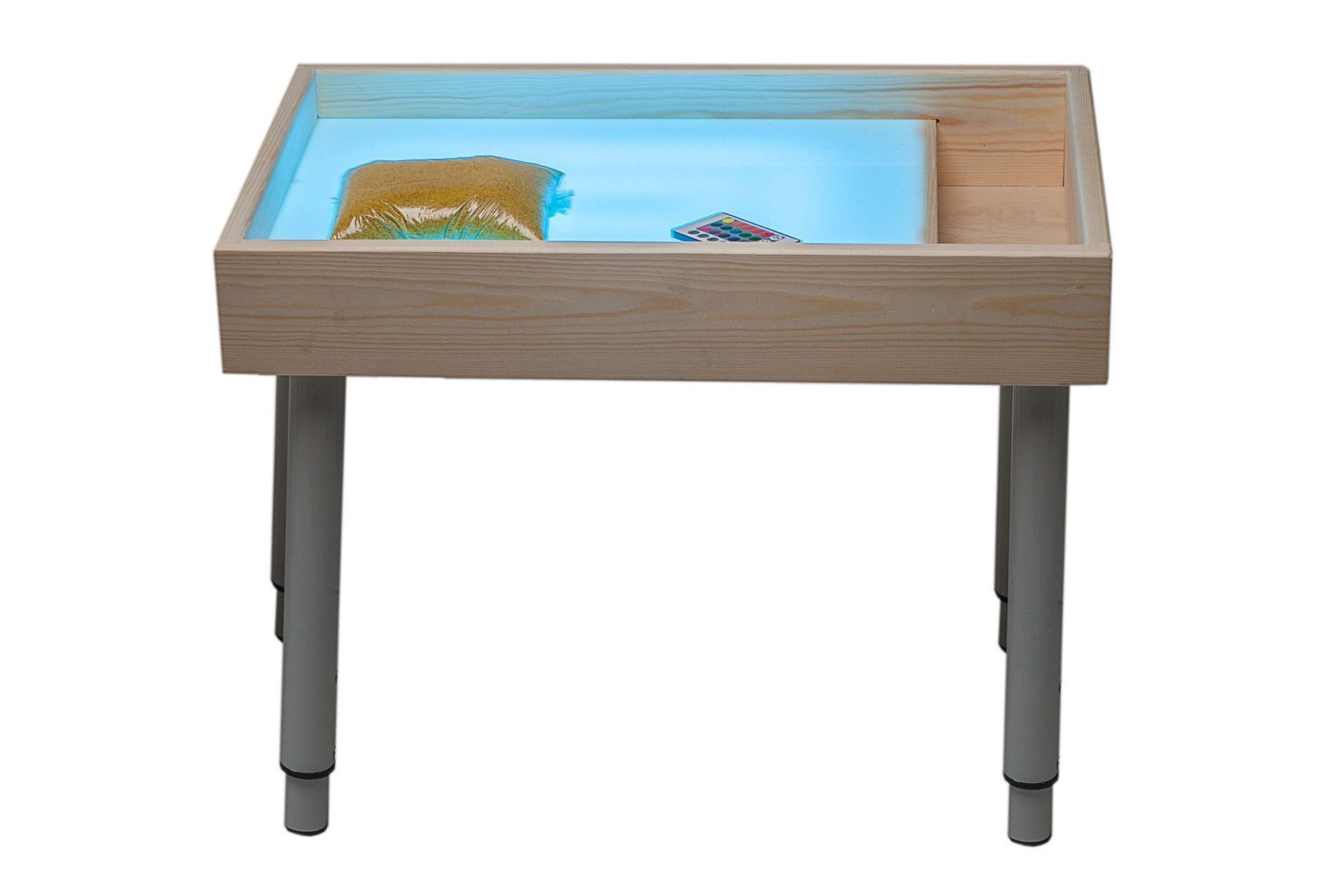 Рисование песком - как сделать стол 39
