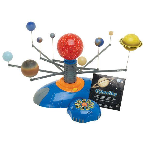 Как самому сделать модель солнечной системы